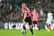 Scotland Midfielder Darren Fletcher (captain) during the FIFA World Cup Qualifier group stage match between England and Scotland at Wembley Stadium, London, England on 11 November 2016. Photo by Phil Duncan.