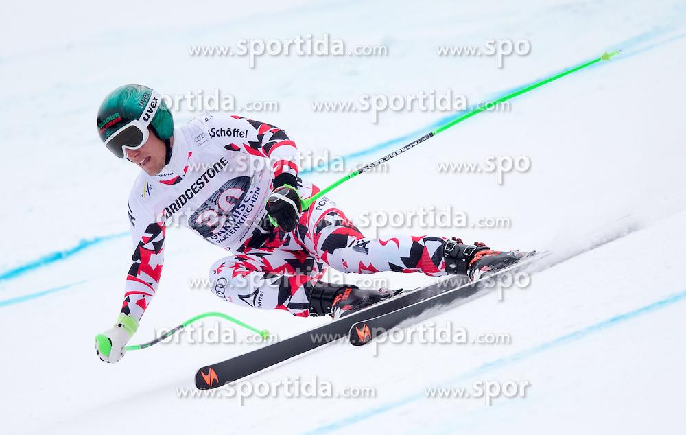 27.02.2015, Kandahar, Garmisch Partenkirchen, GER, FIS Weltcup Ski Alpin, Abfahrt, Herren, 2. Training, im Bild Otmar Striedinger (AUT) // Otmar Striedinger of Austria in action during the 2nd trainings run for the men's Downhill of the FIS Ski Alpine World Cup at the Kandahar course, Garmisch Partenkirchen, Germany on 2015/27/02. EXPA Pictures © 2015, PhotoCredit: EXPA/ Johann Groder