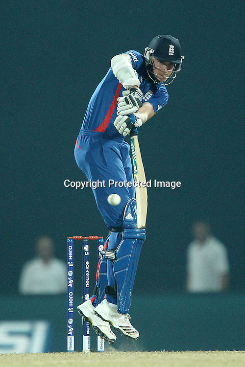 Stuart Broad (Captain) of England  during the ICC World Twenty20 Super Eights match between England and Sri Lanka held at the  Pallekele Stadium in Kandy, Sri Lanka on the 1st October 2012<br /> <br /> Photo by Ron Gaunt/SPORTZPICS