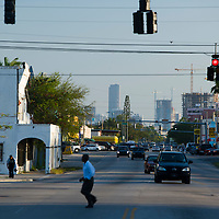 NE 2nd Avenue. and 62nd Street, Little Haiti, Miami.  Image from a series called Paradise Lost, the changing face of Miami.
