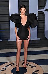 March 6, 2018 - Los Angeles, California, USA - Kendall Jenner at The 2018 Vanity Fair Oscar Party in Beverly Hills. (Credit Image: © Starmax/Newscom via ZUMA Press)