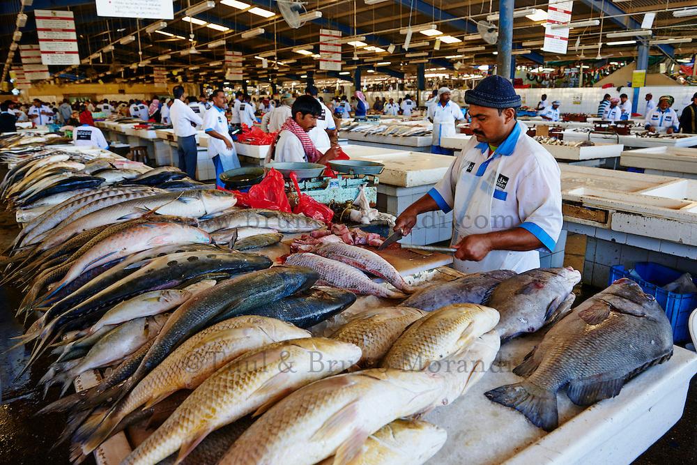 Emirats Arabes Unis, Dubai, quartier de Deira, fish market // United Arab Emirates, Dubai, Deira neighbourhood, fish market