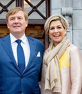 CORK - King Willem-Alexander and Queen Maxima visit Camden Fort Meagher during their visit to Ireland. robin utrecht