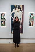 Five self-portraits (one larger than life) by Chantal Joffe (pictured) - From Life a new exhibition at the Royal Academy of Arts. It runs from 11 December 2017 – 11 March 2018.
