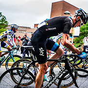 Chris Froome of Team Sky at the Grand Prix Cyclistes de Montreal in Montreal on September,  15 2013