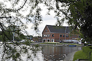 Gent, BELGIUM,  General views of  the Koninklijke Roeiveniging Club Gent Boathouse,  International Belgian Rowing Championships, Saturday 09/05/2009, [Mandatory Credit. Peter Spurrier/InterGentImages]