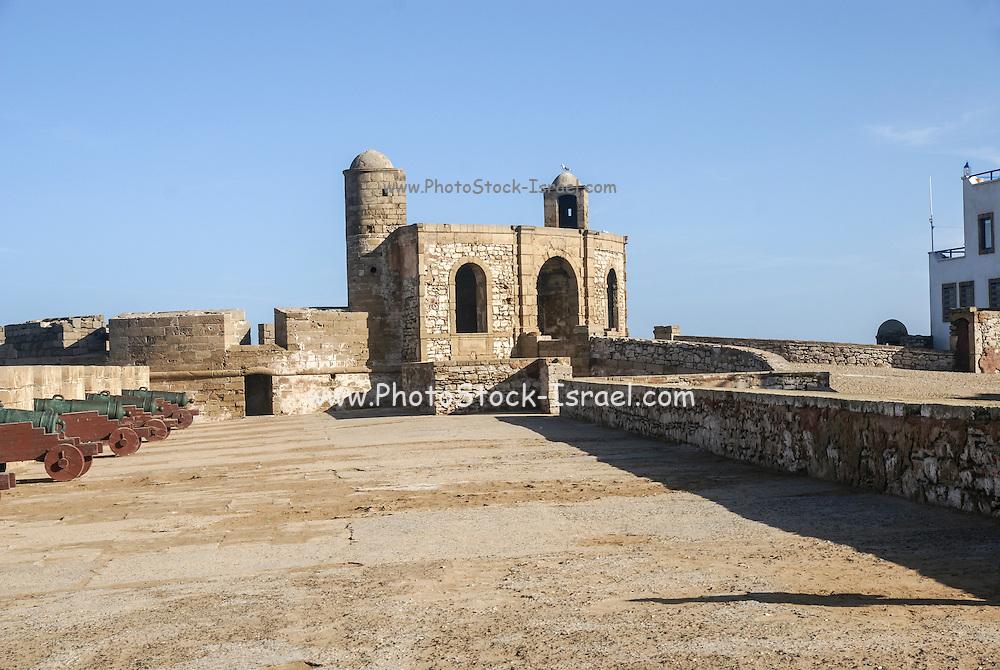 Morocco, Essaouira, Fortified seawall
