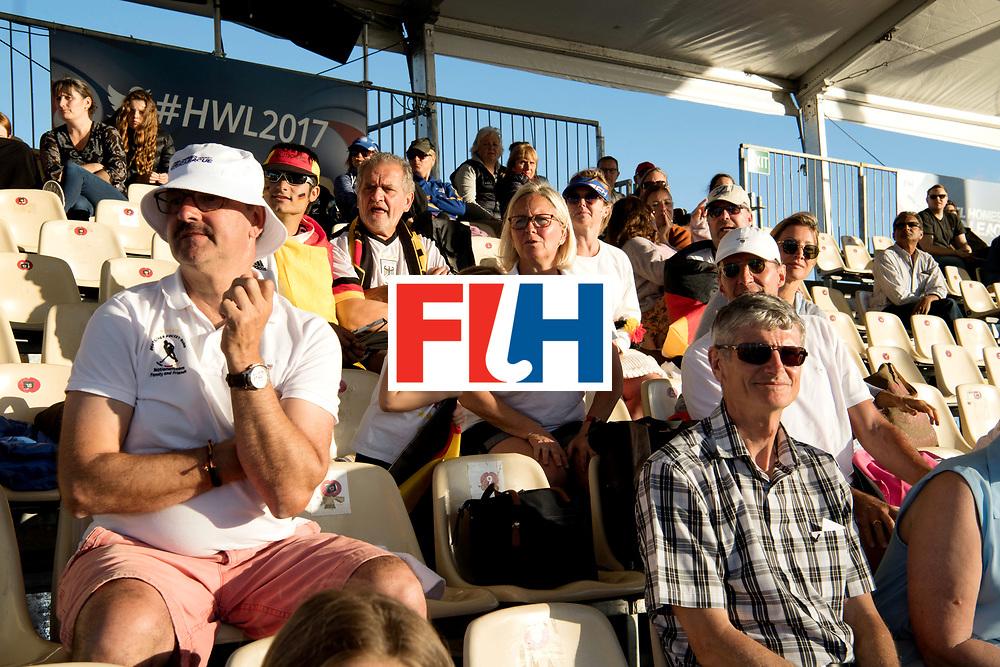 AUCKLAND - Sentinel Hockey World League final women<br /> <br /> Gemrna fans<br /> WORLDSPORTPICS COPYRIGHT FRANK UIJLENBROEK
