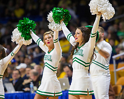 Dec 17, 2015; Charleston, WV, USA; Marshall Thundering Herd cheerleaders perform before the game at the Charleston Civic Center . Mandatory Credit: Ben Queen-USA TODAY Sports
