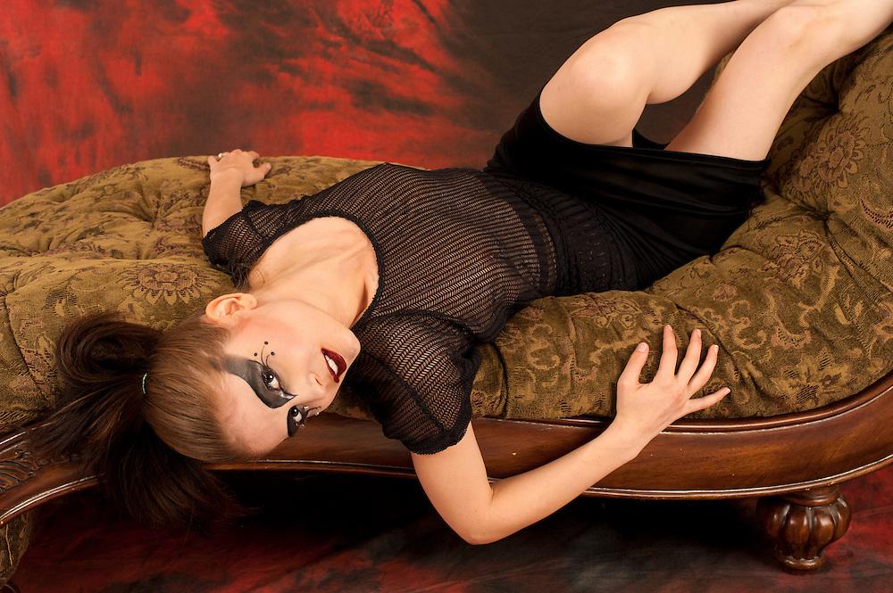 Model: Sensi Pearl, Makeup by Christine Chan