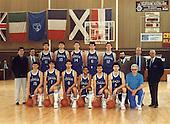 Amichevole di preparazione agli Europei Juniores Yugoslavia 1988 Francia - Italia