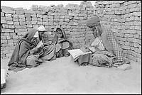 Pakistan, Punjab, ecole coranique. // Pakistan, Punjab. Coranic school