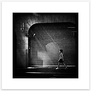 &quot;Incognito&quot;, Kent Street, Sydney. From the Ephemeral Sydney street series.<br />