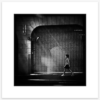 &quot;Incognito&quot;, Kent Street, Sydney. From the Ephemeral Sydney street series.<br /> <br /> As featured in my Head On Photo Festival 2018 associated exhibition &ldquo;Ephemeral Sydney&rdquo;.<br /> <br /> Available print sizes (unframed): <br /> <br /> 30 x 30 cm - Limited edition of six (6) signed &amp; numbered pigment ink prints on Hahnem&uuml;hle Photo Rag Bright White archival paper + maximum two (2) artist&rsquo;s proofs - $220<br /> <br /> Framed prints available for delivery to Sydney metro area. POA.<br /> <br /> Price includes GST &amp; delivery within Australia.<br /> <br /> To order please email orders@girtbyseaphotography.com