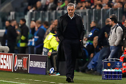 November 7, 2018 - Turin, Italy - Manchester United head coach Jose Mourinho during the Group H match of the UEFA Champions League between Juventus FC and Manchester United FC on November 7, 2018 at Juventus Stadium in Turin, Italy. (Credit Image: © Mike Kireev/NurPhoto via ZUMA Press)