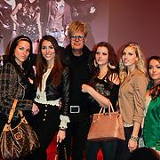 NLD/Hilversum/20120223 - Voorjaarspresentatie RTL5 2012, Maria , Daniëlla Merringer , Renée Trompert , Ad Visser , Tessa Kort , Priscilla van der Meer , Bibi Breijman en Jenna Didd