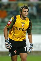 Firenze 07-08-2005<br /> Coppa Italia Tim Cup 2005-2006<br /> Fiorentina Cisco Lodigiani<br /> nella  foto Sebastian Frey<br /> Foto Snapshot / Graffiti