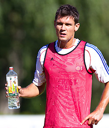 04.07.2011, Alois Latini Stadion, Zell am See, AUT, Olympique Lyon, Training, im Bild Dejan Lovren, Olympique Lyon// during a training session of AUT, Olympique Lyon, in Zell am See, Austria on 2011/07/04, EXPA Pictures © 2011, PhotoCredit: EXPA/ J. Feichter