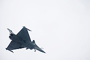 France, Paris, Bourget Airport Salon-du-Bourget The le Bourget Air show June 2009. Dassault Mirage 2000 a French multirole fighter jet in flight