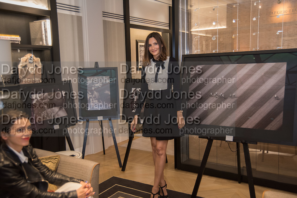 LARA BOHINC; ASTRID MUNOZ, preview of &lsquo;UNBRIDLED SYNCHRONY&rsquo;, an exhibition of works by photographer Astrid Mu&ntilde;oz. Jaeger-LeCoultre Boutique<br /> 13 Old Bond Street. London. 13 July 2015