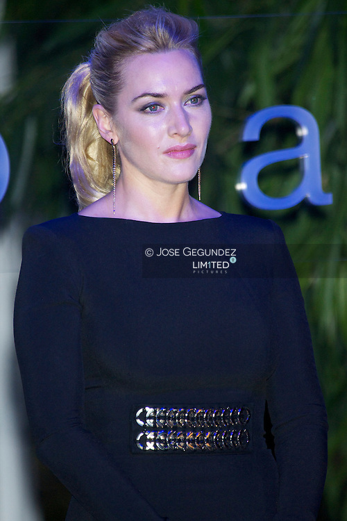 Kate Winslet attends YO DONA Magazine International Awards at El Matadero in Madrid. She receives the awards for her Humanitarian work.