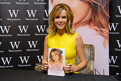 Amanda Holden signs copies of her new book 'No Holding Back'. Bluewater Shopping Center, Greenhithe, United Kingdom. Saturday, 26th October 2013. Picture by Chris Joseph / i-Images