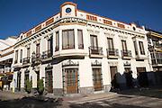 Historic building exterior, Hotel Casa Grande, Jerez de la Frontera, Spain