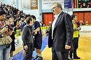 Romeo Sacchetti<br /> Vanoli Cremona - Banco di Sardegna Dinamo Sassari<br /> Legabasket Serie A Beko 2012-2013<br /> Cremona, 24/03/2013<br /> Foto L.Canu / Ciamillo-Castoria