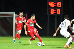 Alen Krajnc of Aluminij during football match between NK Aluminij and NK Olimpija in 6st Round of Prva liga Telekom Slovenije 2019/20, on August 18, 2019 in Sportni park NK Aluminij, Kidricevo, Slovenia. Photo by Milos Vujinovic / Sportida