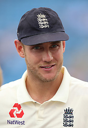 England's Stuart Broad during day three of the Second NatWest Test match at Headingley, Leeds.