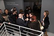 Puma/ Hussein Chalayan Retrospective Exhibition. Design Museum, London. 21 January 2009. *** Local Caption *** -DO NOT ARCHIVE-© Copyright Photograph by Dafydd Jones. 248 Clapham Rd. London SW9 0PZ. Tel 0207 820 0771. www.dafjones.com.<br /> Puma/ Hussein Chalayan Retrospective Exhibition. Design Museum, London. 21 January 2009.
