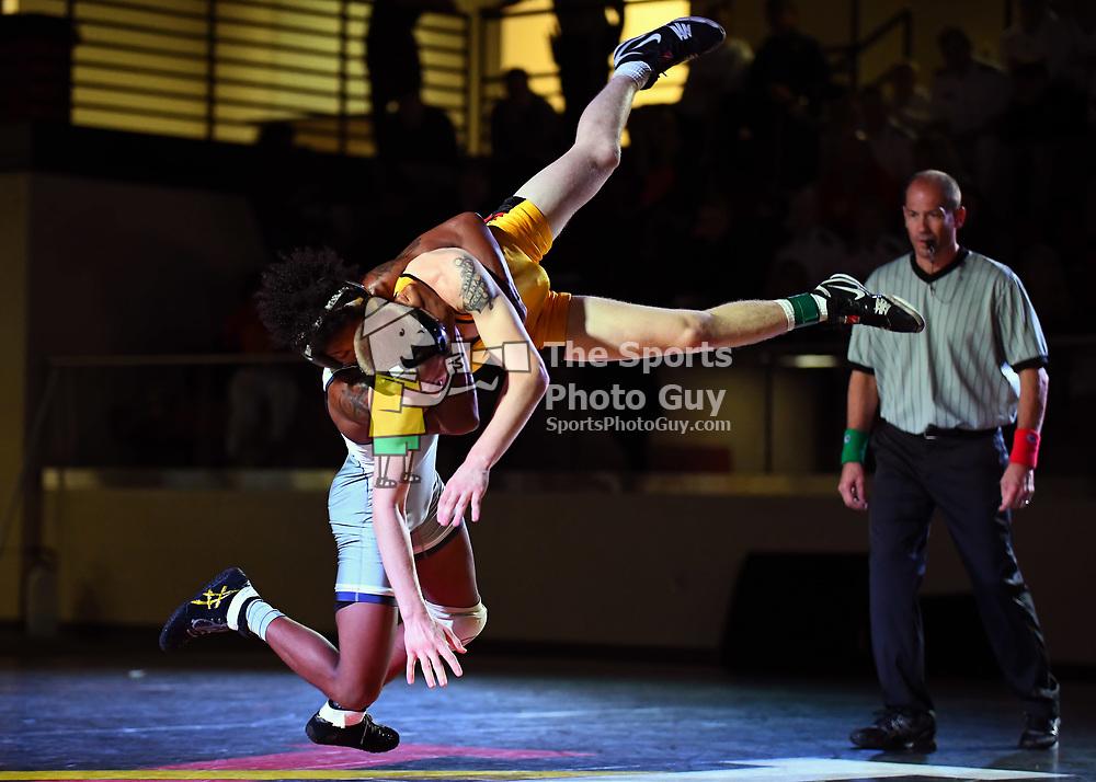 NCAA Wrestling: Chattanooga takes down VMI, 37-7