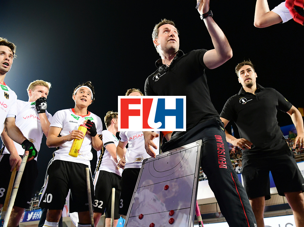 Odisha Men's Hockey World League Final Bhubaneswar 2017<br /> Match id:20<br /> Australia v Germany<br /> Foto: coach Stefan Kermas (Ger) <br /> COPYRIGHT WORLDSPORTPICS FRANK UIJLENBROEK