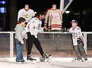 December 13, 2014: The Oklahoma City Barons host WinterFest at the Devon Ice Rink in the Myriad Gardens in Oklahoma City, OK.