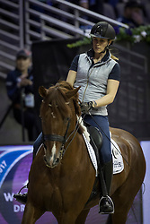 Witte-Vrees Madeleine, NED, Cennin<br /> Training session<br /> Longines FEI World Cup Jumping Final, Omaha 2017 <br /> © Hippo Foto - Jon Stroud<br /> 29/03/2017