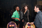 SHINGAI SHONIWA; DAISY LOWE, Esquire dinner celebrating being Brilliant, Young and British hosted by editor Jeremy Langmead at Aqua Nueva, Fifth Floor, 240 Regent Street , London 1 June 2010. -DO NOT ARCHIVE-© Copyright Photograph by Dafydd Jones. 248 Clapham Rd. London SW9 0PZ. Tel 0207 820 0771. www.dafjones.com.