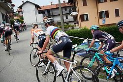 Chantal Blaak (NED) at Giro Rosa 2018 - Stage 5, a 122.6 km road race starting and finishing in Omegna, Italy on July 10, 2018. Photo by Sean Robinson/velofocus.com