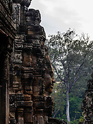 Image of Bayon temple at Angkor Wat Archeological Park, Siem Reap, Cambodia.