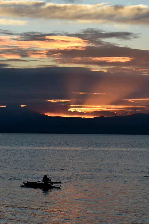 Sunset at Moalboal Beach, Philippines