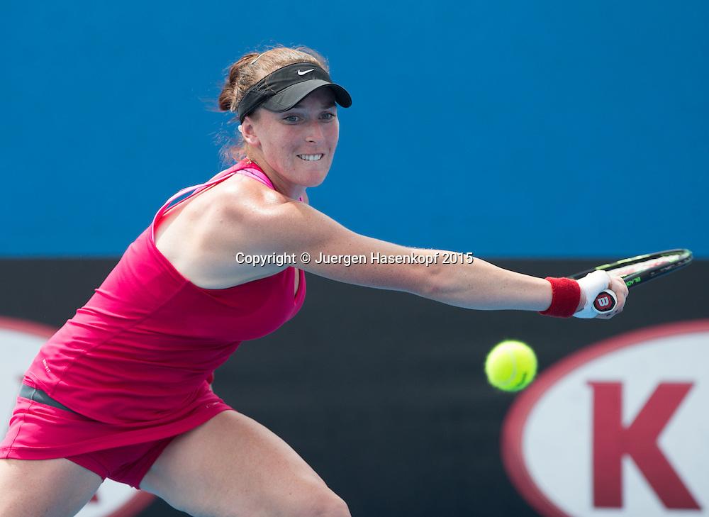 Madison Brengle (USA)<br /> <br />  - Australian Open 2015 -  -  Melbourne Park Tennis Centre - Melbourne - Victoria - Australia  - 20 January 2015. <br /> &copy; Juergen Hasenkopf