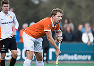 BLOEMENDAAL - Hockey - Bloemendaal-Oranje Rood 3-2. Mats de Groot (Bldaal).   COPYRIGHT KOEN SUYK