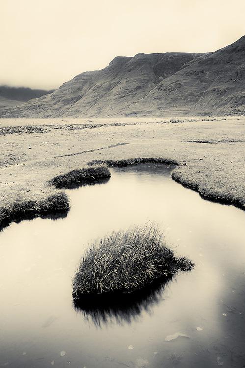 Saltmarsh at Annat, Torridon, Scotland