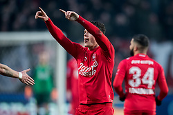 Tom Boere of FC Twente 1-1 during the Dutch Eredivisie match between FC Twente Enschede and FC Groningen at the Grolsch Veste on March 04, 2018 in Enschede, The Netherlands