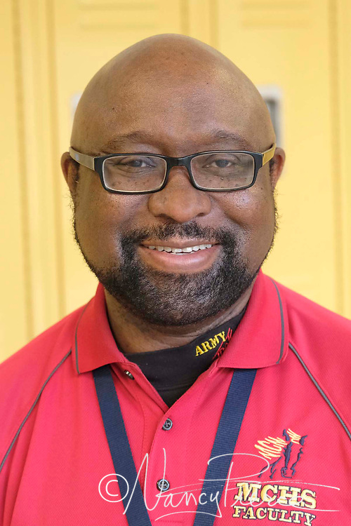 Timothy Rodman, Teacher Assistant of the Year at Mallard Creek High School, for North LC