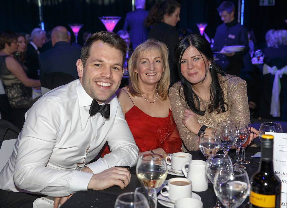 Black and Lizars Awards at Crieff Hydro . Picture Robert Perry 30th Jan 2016<br /> <br /> Must credit photo to Robert Perry<br /> <br /> Image is free to use in connection with the promotion of the above company or organisation. 'Permissions for ALL other uses need to be sought and payment make be required.<br /> <br /> <br /> Note to Editors:  This image is free to be used editorially in the promotion of the above company or organisation.  Without prejudice ALL other licences without prior consent will be deemed a breach of copyright under the 1988. Copyright Design and Patents Act  and will be subject to payment or legal action, where appropriate.<br /> www.robertperry.co.uk<br /> NB -This image is not to be distributed without the prior consent of the copyright holder.<br /> in using this image you agree to abide by terms and conditions as stated in this caption.<br /> All monies payable to Robert Perry<br /> <br /> (PLEASE DO NOT REMOVE THIS CAPTION)<br /> This image is intended for Editorial use (e.g. news). Any commercial or promotional use requires additional clearance. <br /> Copyright 2014 All rights protected.<br /> first use only<br /> contact details<br /> Robert Perry     <br /> 07702 631 477<br /> robertperryphotos@gmail.com<br />        <br /> Robert Perry reserves the right to pursue unauthorised use of this image . If you violate my intellectual property you may be liable for  damages, loss of income, and profits you derive from the use of this image.