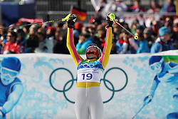 Olympic Winter Games Vancouver 2010 - Olympische Winter Spiele Vancouver 2010, Alpine Skiing (Ladies' Super Combined), Maria RIESCH (GER) **Photo by Malte Christians / HOCH ZWEI / SPORTIDA.com.