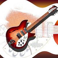 Pete Townsend Rickenbacker Guitar