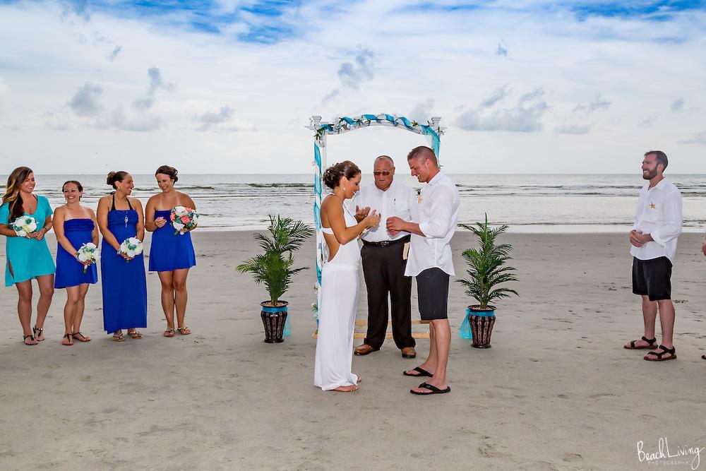 Amanda and Scott Grack wedding at North Beach Plantation, Myrtle Beach, SC 8/5/2016