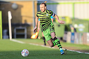Forest Green Rovers Joseph Mills(23) runs forward during the EFL Sky Bet League 2 match between Forest Green Rovers and Salford City at the New Lawn, Forest Green, United Kingdom on 18 January 2020.