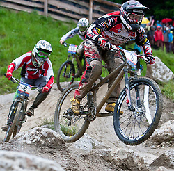 12.06.2011, Bikepark, Leogang, AUT, UCI MOUNTAINBIKE WORLDCUP, LEOGANG, im Bild Joost Wichman, (NED) // during the UCI MOUNTAINBIKE WORLDCUP, LEOGANG, AUSTRIA, 2011-06-12, EXPA Pictures © 2011, PhotoCredit: EXPA/ J. Feichter